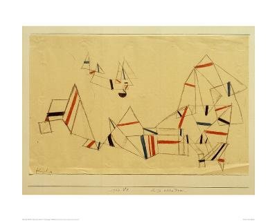 Ships After the Storm-Paul Klee-Giclee Print