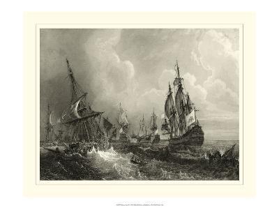 Ships at Sea II--Art Print