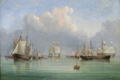 Ships Off Ryde-Arthur Wellington Fowles-Giclee Print