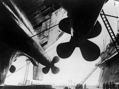 Ships's Propellers--Photographic Print