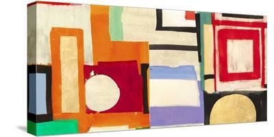 Ships Sailing Quietly-Leonardo Bacci-Stretched Canvas Print