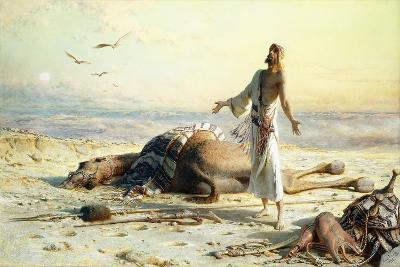 Shipwreck in the Desert, 1886-Carl Haag-Giclee Print