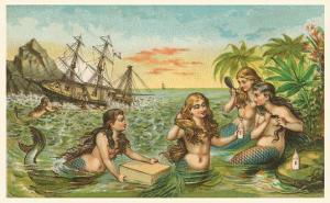 Shipwreck, Mermaids with Salvage