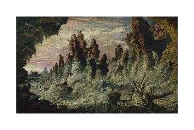 Shipwrecked Boats Battling the Storm-Gustave Dor?-Giclee Print