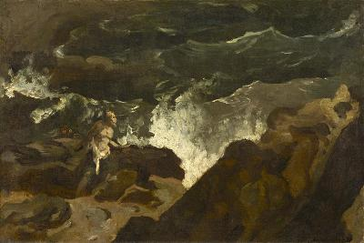 Shipwrecked on a Beach, c.1822-3-Theodore Gericault-Giclee Print