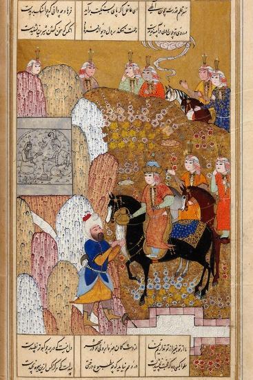 Shirin Visiting Farhad--Giclee Print