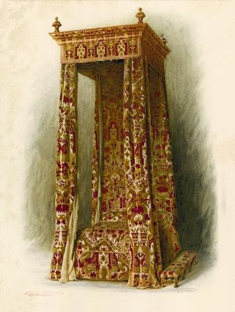 Upholstered Bed, Hampton Court Palace