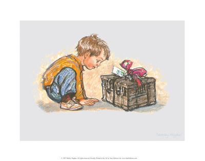 Gift - Alfie Illustrated Print