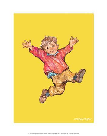 Jump - Alfie Illustrated Print