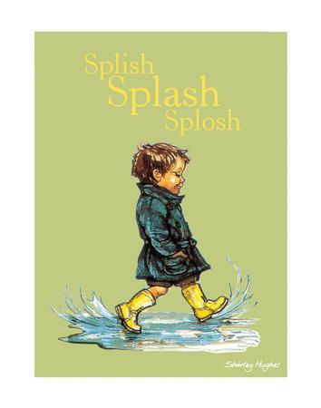 Splish Splash Splosh - Alfie Illustrated Print