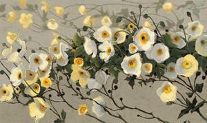 Breezes Gray Crop by Shirley Novak
