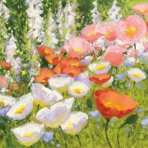 Garden Pastels II by Shirley Novak
