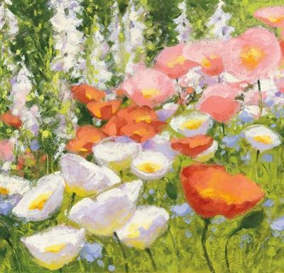 Garden Pastels II by Shirley Novak