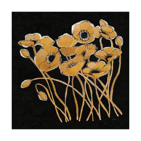 shirley-novak-gold-black-line-poppies-i-v2
