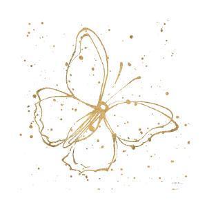 Golden Wings I by Shirley Novak