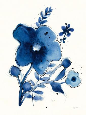 Independent Blooms Blue I by Shirley Novak