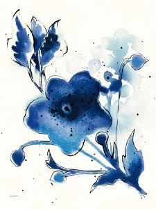 Independent Blooms Blue II by Shirley Novak