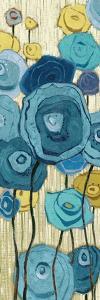 Lemongrass in Blue Panel I by Shirley Novak