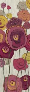 Lemongrass in Plum Panel I by Shirley Novak