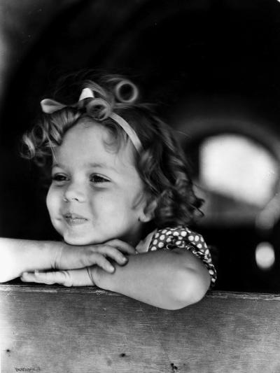 Shirley Temple (1928-)--Giclee Print