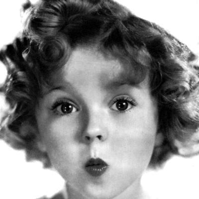 Shirley Temple, American Actress, 1934-1935--Photographic Print