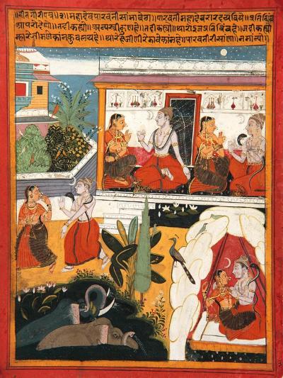 Shiva and Gauri, C.1640--Giclee Print