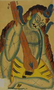 Shiva as a Musician, India, 19th Century