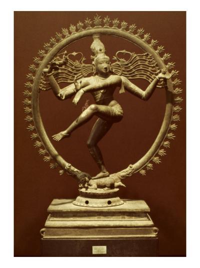 Shiva As Nataraja--Giclee Print