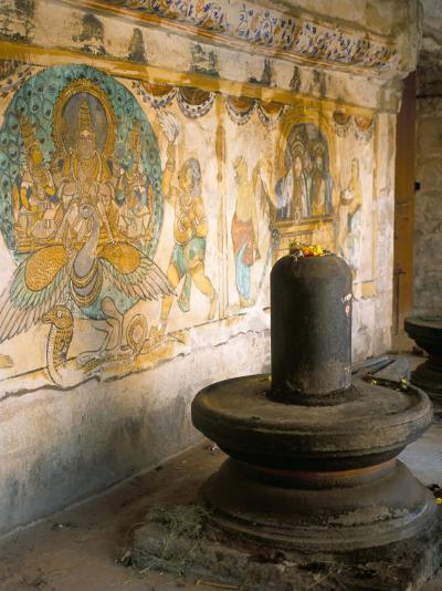 Shiva Lingam in 10th Century Temple of Sri Brihadeswara, Thanjavur, India-Occidor Ltd-Photographic Print
