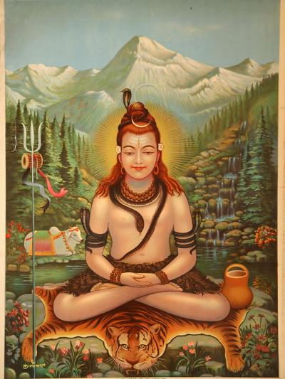 Shiva Meditating--Giclee Print