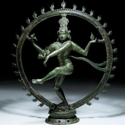 Shiva Nataraja in Bronze, 12th Century--Photographic Print