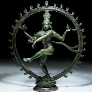 Shiva Nataraja in Bronze, 12th Century