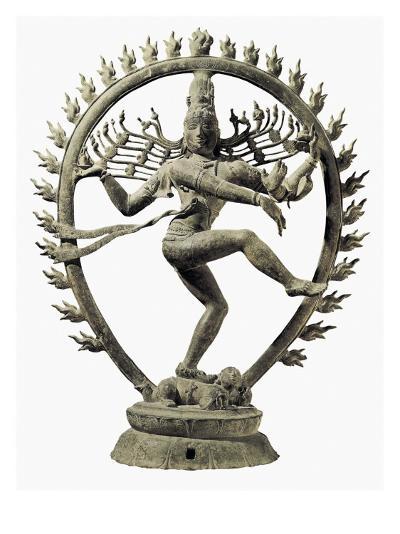 Shiva Nataraja, King of Dance--Art Print