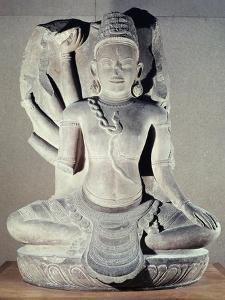 Shiva with Ten Arms, from Thap Banh It Temple, Binh Dinh, Vietnam, 11th-12th Century