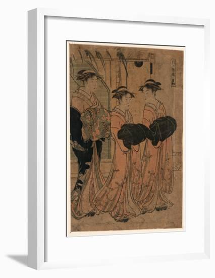 Shocho-Katsukawa Shuncho-Framed Giclee Print