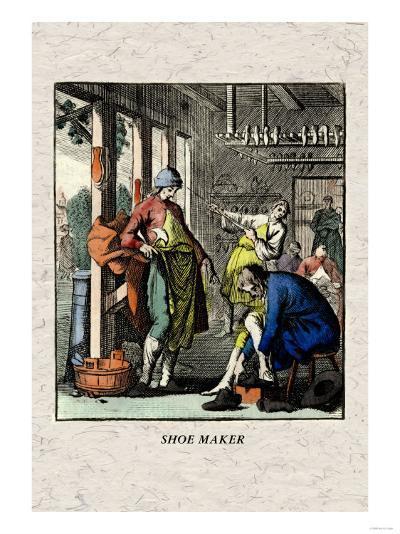 Shoe Maker--Art Print