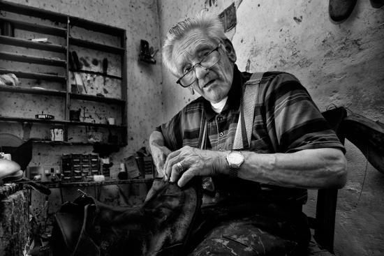 Shoe Repair No. 1-Antonio Grambone-Photographic Print