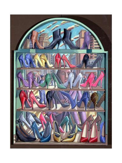 Shoe Shop-PJ Crook-Giclee Print