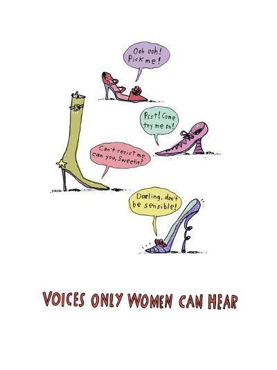 Shoe Voices--Art Print