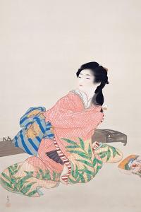 Daughter Miyuki by Shoen Uemura