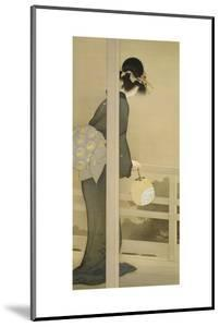 Waiting for the Moon by Shoen Uemura