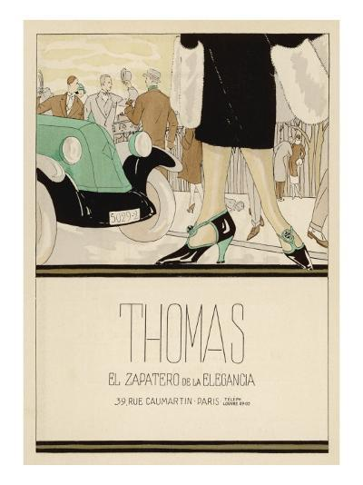 Shoes by Thomas--Giclee Print