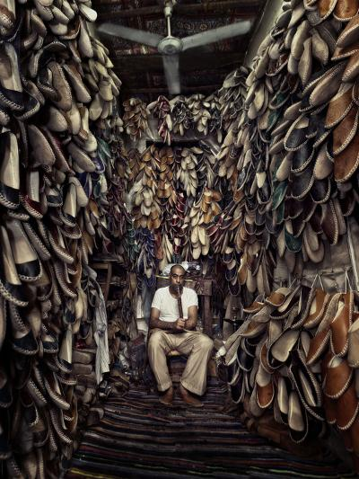 Shoes Maker-Mahmoud Fayed-Photographic Print