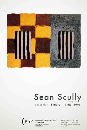 Shoji-Sean Scully-Art Print