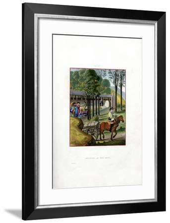 Shooting at the Butt, 1496-Henry Shaw-Framed Giclee Print