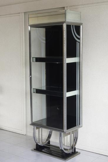 Shop Display Cabinet, 1930-1940, Steel and Glass, United States of America--Giclee Print