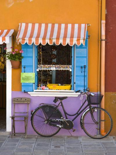Shop Front, Burano, Venice, Italy-Doug Pearson-Photographic Print