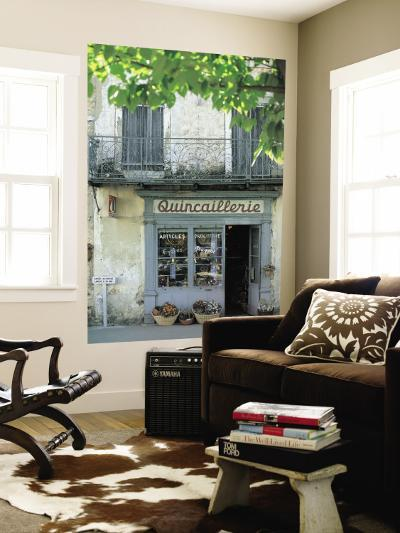 Shop in Sault, Provence, France-Peter Adams-Wall Mural
