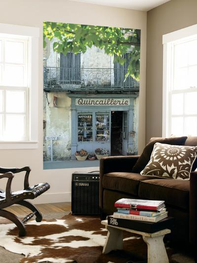 Shop in Sault, Provence, France-Peter Adams-Giant Art Print