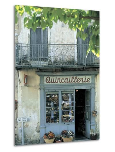 Shop in Sault, Provence, France-Peter Adams-Metal Print